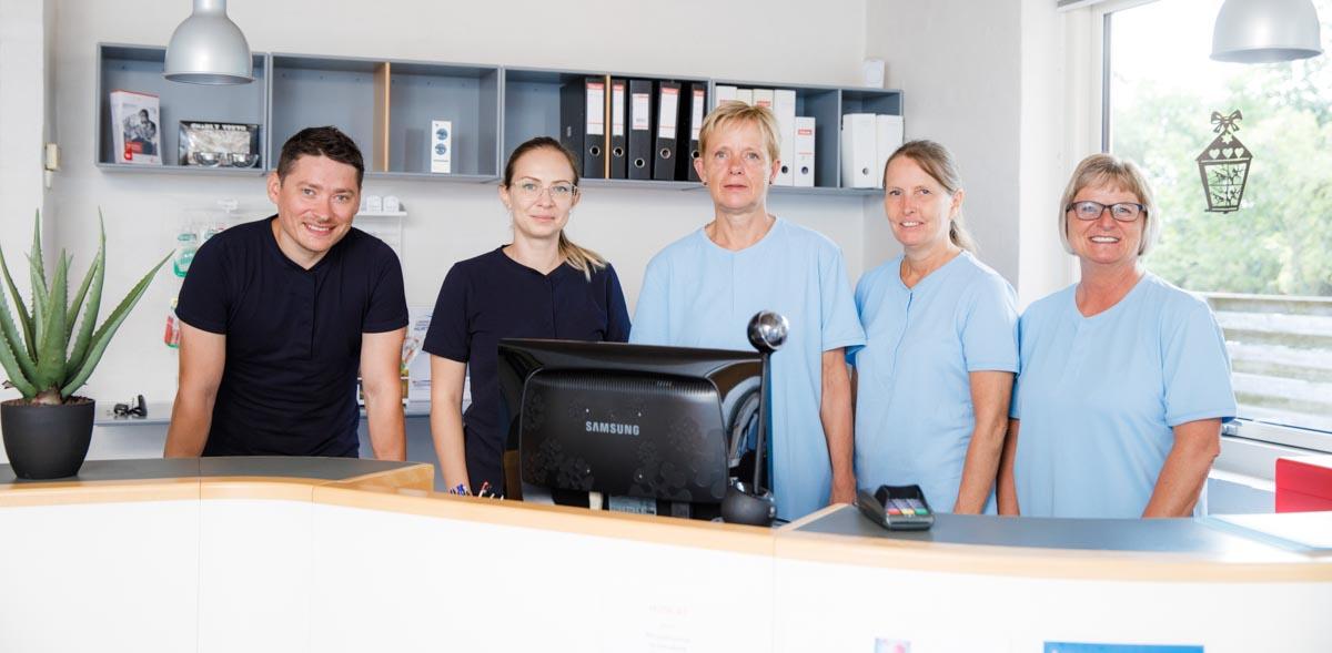 Norddjurs tandklinik personale